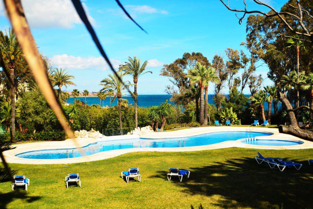 Luxury villa beachfront Marbella